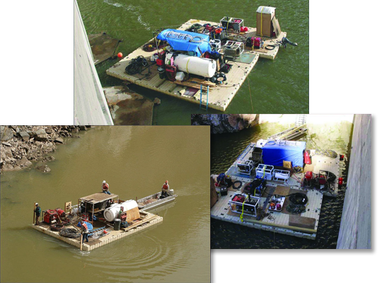 equipment-materials-barges-collage