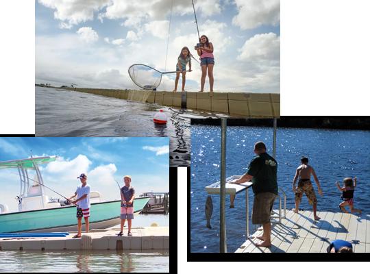 fishing-collage