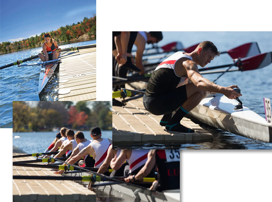 rowing-collage